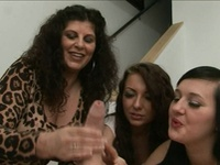 Cfnm Female Domination Party Giving Wank Job