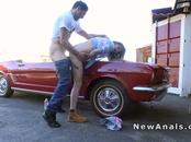 Hottie Bends Over Car And Anal Bangs