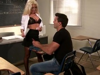 Ramon Shaggs His Spicy Blonde Professor After Class